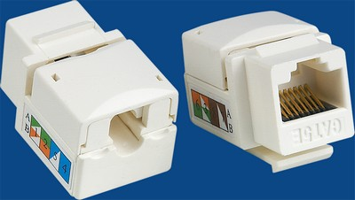 made in china  TM-8009 Cat.5E Network Data keystone jack  company