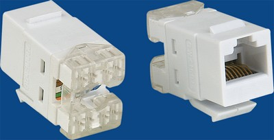 made in china  TM-8012 Cat.5E RJ45 Network Data keystone jack  factory