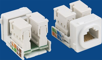 made in china  TM-8101 Cat.5E RJ45 Network Data keystone jack  corporation