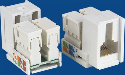 manufactured in China  TM-8201 Cat.5E RJ45 Data keystone jack  company
